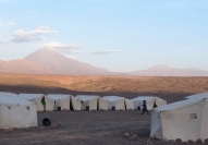 Awesome views beyond the 1st night's camp