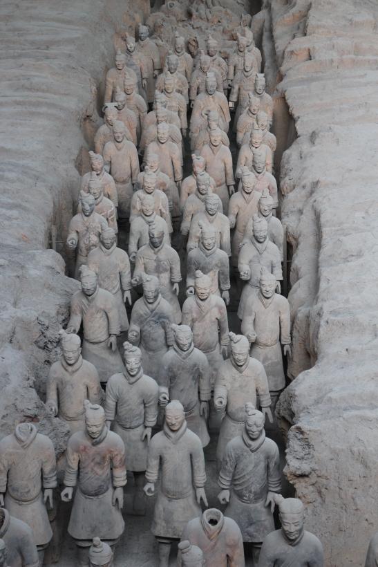 Terracotta Warriors, 1000s of them !