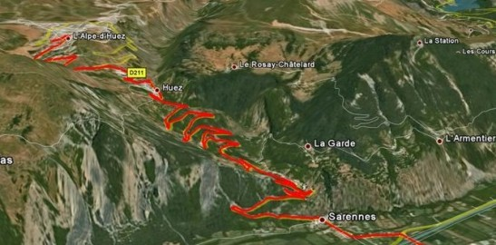 1,000m, 21 hairpin bends, 40 degrees Celcius.... Easy !?!